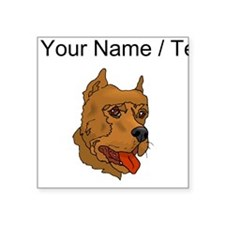 Perro de Presa Canario (Custom) Sticker