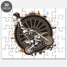 Motocross Stunt Puzzle
