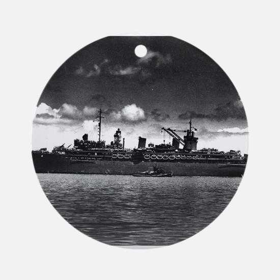 battle of midway Ornament (Round)