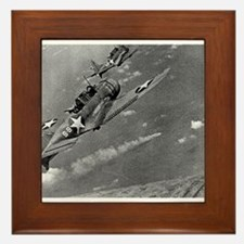 battle of midway Framed Tile