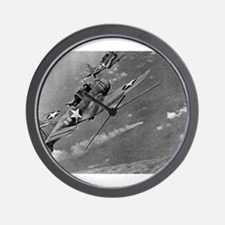 battle of midway Wall Clock