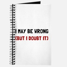 May Be Wrong Journal