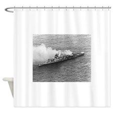 battle of midway Shower Curtain