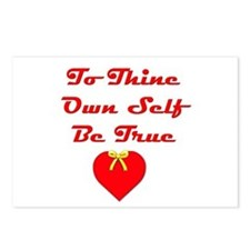 To Thine Own Self Be True Postcards (Package of 8)