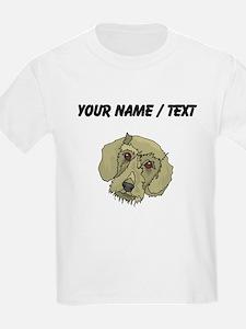 Longhaired Dachshund (Custom) T-Shirt