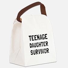 Teenage Daughter Survivor Canvas Lunch Bag