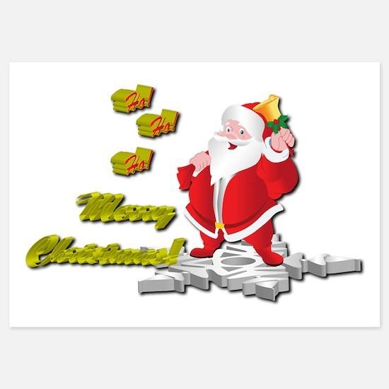 Ho! Ho! Ho! Merry Christmas Invitations