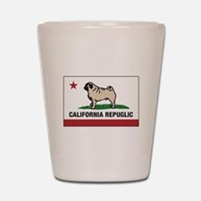 California Repuglic Shot Glass