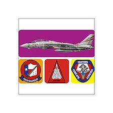 VF-201 Hunters Rectangle Sticker