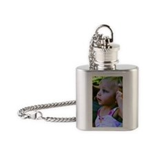 Cute Beauty Flask Necklace