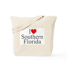 """I Love Southern Florida"" Tote Bag"