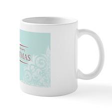Snowflake Merry Christmas Mug