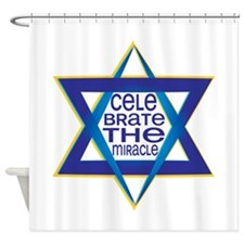 Celebrate The Miracle Shower Curtain