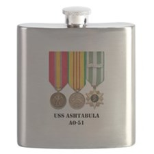 USS Ashtabula Flask