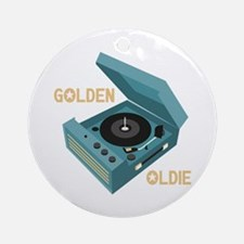 Golden Oldie Ornament (Round)