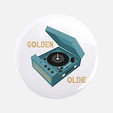 """Golden Oldie 3.5"""" Button"""