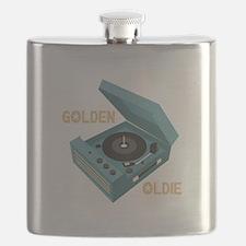 Golden Oldie Flask