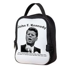 JFK Wealth Neoprene Lunch Bag