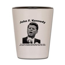 JFK Wealth Shot Glass