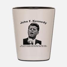JFK Wealth Shot Glass