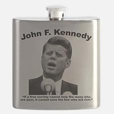 JFK Wealth Flask