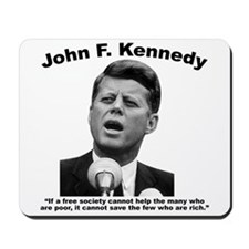 JFK Wealth Mousepad