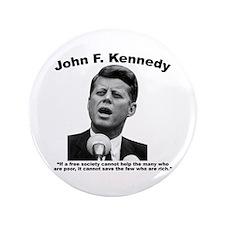 """JFK Wealth 3.5"""" Button"""