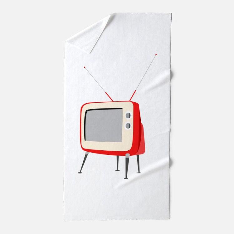 Television Beach Towel