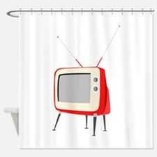 Television Shower Curtain