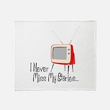 My Stories Throw Blanket