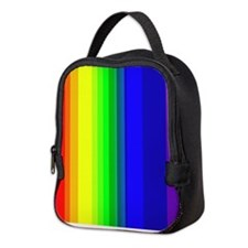 Rainbow Neoprene Lunch Bag