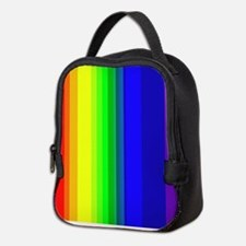 Rainbow Neoprene Lunch Bag