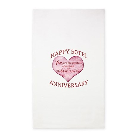 50th anniversary area rug by admin cp13428990