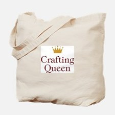 QueenCrafting.jpg Tote Bag