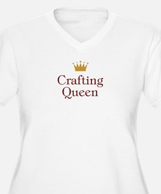 QueenCrafting.jpg Plus Size T-Shirt