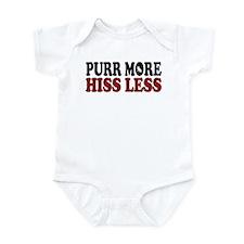 Snowshoe Purr Infant Bodysuit