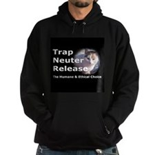 Funny Feral cat Hoodie