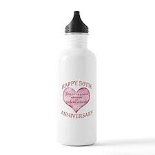 50th. Anniversary Water Bottle