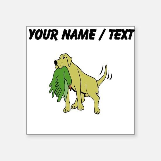 Labrador Retriever (Custom) Sticker
