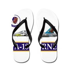 Cool Aviator Flip Flops