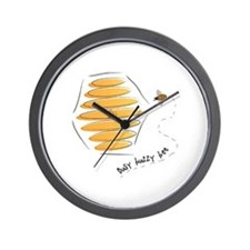 Busy Buzzy Bee Wall Clock