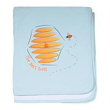 Bees Knees baby blanket