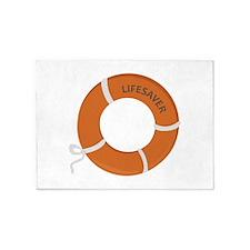 Lifesaver 5'x7'Area Rug