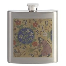 Letter Fall Flask