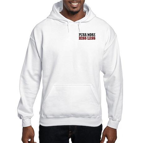 Siamese Purr Hooded Sweatshirt