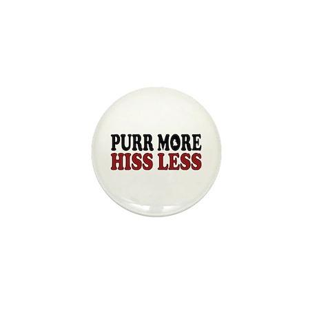 Siamese Purr Mini Button