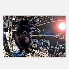 Interstellar Kitty Postcards (Package of 8)
