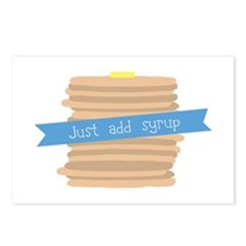 Just Add Syrup Postcards (Package of 8)