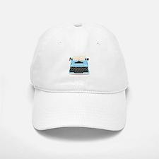 Typewriter Baseball Hat