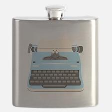 Typewriter Flask
